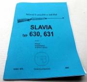 Slavia 630 a 631 vzduchovka - Návod k použití a údržbě reprint.