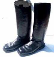Jezdecké kožené boty - použité