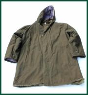 Pracovní zateplené armádní kabát, kožíšek, kapuce Otavan Třeboň