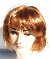 """Paruka """"špína-blond"""" krátká s ofinou 14"""