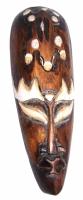 Orient dřevo dekorace na zeď - Hlava + medvěd 30cm