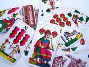 Hrací klasické jednohlavé karty (32 listů)