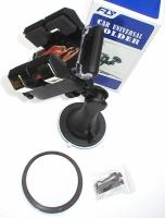 Stavitelný držák navigace na sklo a palubku, Mp3, telefon