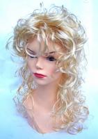 Paruka dlouhá blond kudrdlina (39)