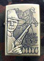 Benzinový zapalovač - Western film Open Rang - Krajina střelců