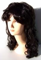 Paruka dlouhé vlasy blond s lokny 24