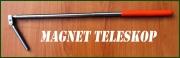 Magnet na teleskopické tyči s dvěma klouby