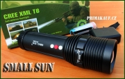 Small SUN Vysoce svítivá Multi CREE LED nabíjecí svítilna se ZOO