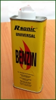 Benzín do zapalovače 125ml R-Sonic Germany