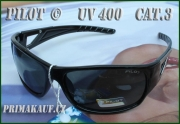 Černé sluneční brýle PILOT © model: AS8101129 s UV filterem