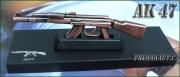 Útočná puška AK 47 jako zapalovač