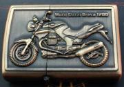 Benzinový zapalovač Moto Guzzi Breva 1200 styl zippo