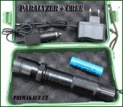 Power Style Novinka Policejní paralyzer CREE svítilna + AKU