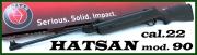 Vzduchovka Hatsan mod.90, 5,5mm ráže