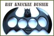 Černý boxer Netopýr obrana Bat Knuckle-duster