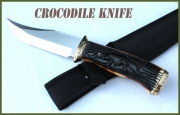 Crocodile knife - pro lovce a rybáře