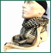 Bavlněný šátek PLO - černý pískový MFH Int.Corp.