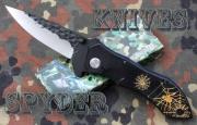 Spyder - pavoučí nůž s reliéfní čepelí F44 - 19,5cm