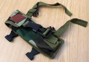 Maskáčové nožové pouzdro na opasek i ruku AK 47 B