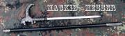 Hůl vycházková Mackie-messer kůň - skrytý nůž