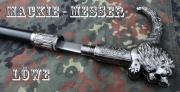 Hůl vycházková Mackie-messer - skrytý nůž - lev