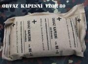 Vojenský obvaz kapesní, obinadlo sterilní vzor 80