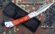 Zavírací nůž z matně leštěné oceli Stainless Steel 22,5cm