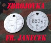 Originální tovární známka JAWA František Janeček