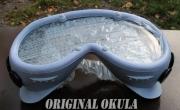 Originální české dobové brutální brýle na motocykl Okula