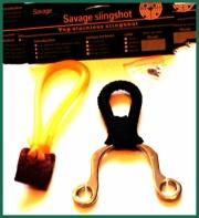Ocelový prak - kaťan Savage 12cm z nerezu