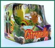 Svíčka Citronella ve skle Adpal proti komárům