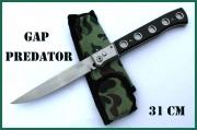 Extra dlouhý vystřelovák 31cm Predator Gap Stainless