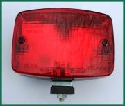 Zadní přídavný mlhový světlomet červený
