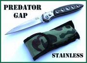 Vystřelovací nůž Predator Gap Stainless
