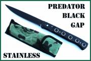Extra dlouhý vystřelovák 31cm Predator Black Gap Stainless