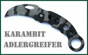 Nůž Orlí dráp Adlergreifer Karambit Camouflage