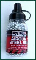 Swiss Arms ocelové broky 4,5mm do vzduchovky. 1500ks