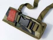Maskáčové nožové pouzdro na opasek i ruku AK 47 C