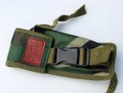 Maskáčové nožové pouzdro na opasek AK 47 B