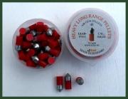 Průrazné náboje do vzduchovky 5,5mm červené