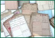 JAWA - originální inventarizační karty pro sběratele
