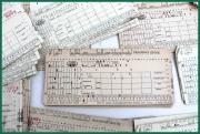JAWA - originální Pracovní lístek pro sběratele