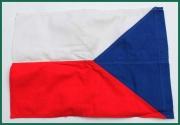 Bavlněná vlajka ČSSR 32x23cm.