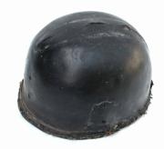 Torzo kožené přilby hasič