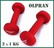 Sada 2 kusů kilových činek neopren Olpran