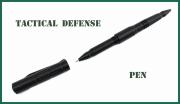 Obranné taktické pero s integrovanou propiskou
