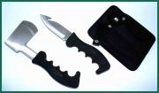 Zálesácká souprava nože a sekerky