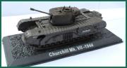 Tank Churchill Mk.VII-1944. Plastový model 1:72